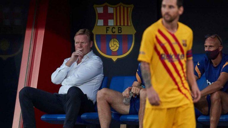 Koeman y Messi lo pactan: otros tres repudiados del Barcelona