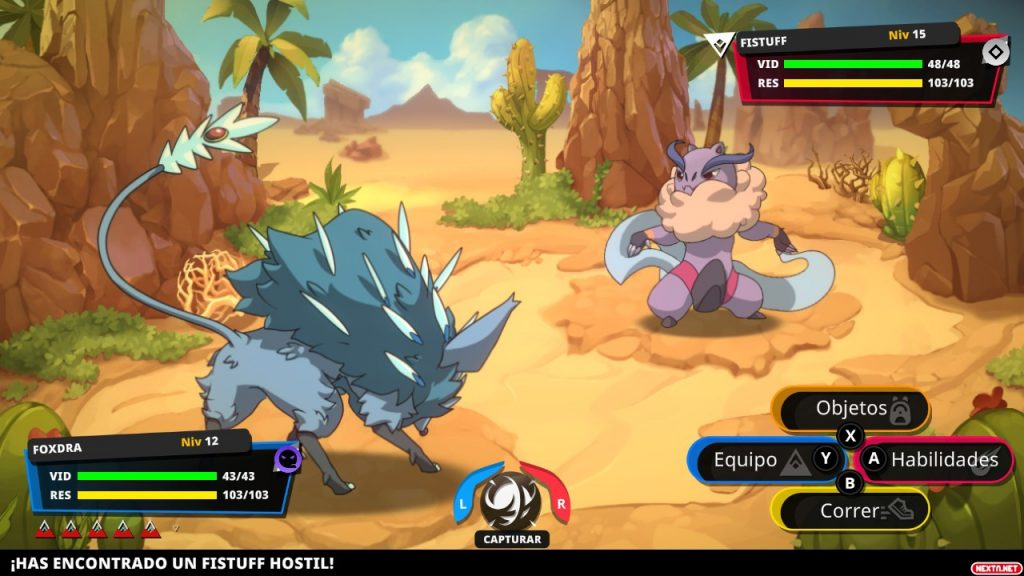 'Nexomon: Extinction', el 'Pokémon' de PS4, Switch y PC que más engancha a los gamers