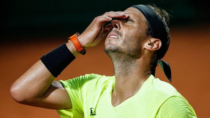 Rafael Nadal y Roland Garros: los síntomas de un descalabro