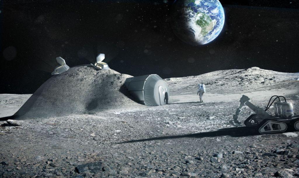 Realizan las primeras mediciones de los niveles de radiación en la Luna