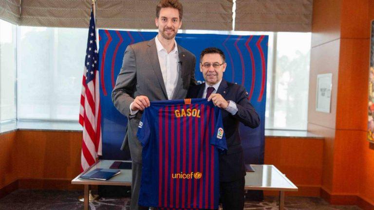 No te lo imaginas: el increíble sueldo que va a ganar Pau Gasol en el Barcelona