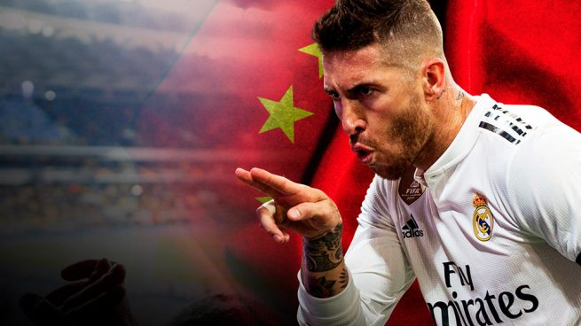 Sergio Ramos China