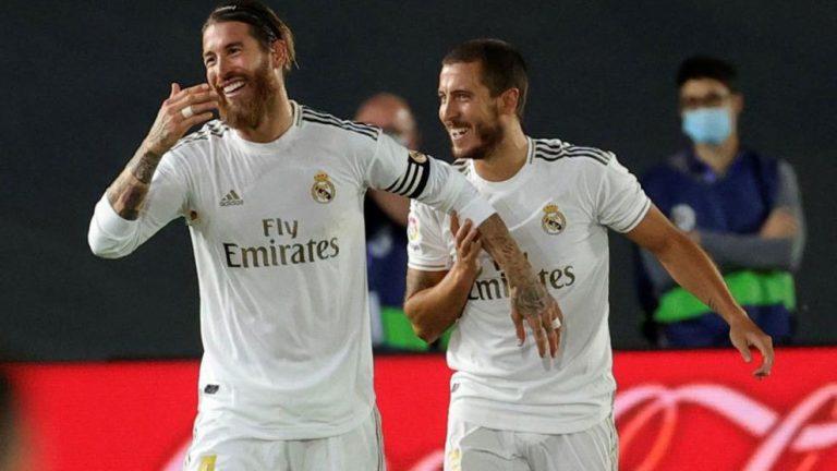 Sergio Ramos y Hazard: crónica de una enemistad