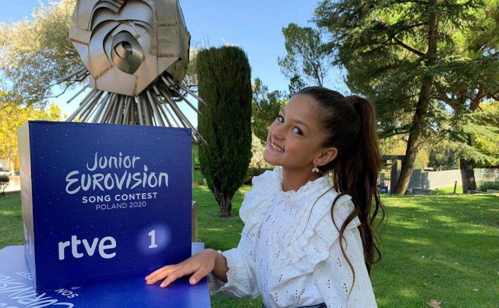 Los logros de Soleá, la hija de Farru para ser representante de Eurovisión Junior