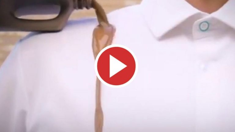 Fabrican camisas a prueba de manchas con botellas recicladas