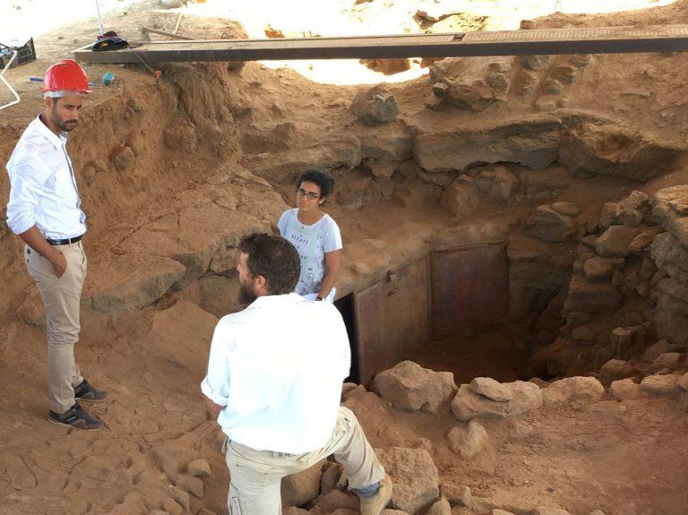 Patrimonio Cultural se compromete a investigar el yacimiento aborigen Villaverde