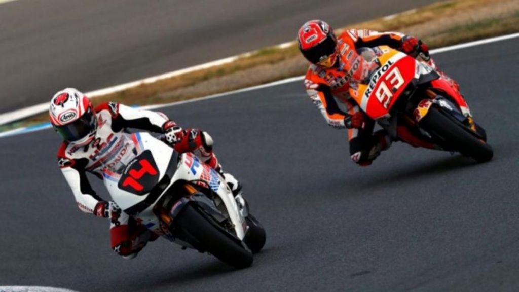 Fernando Alonso en MotoGP