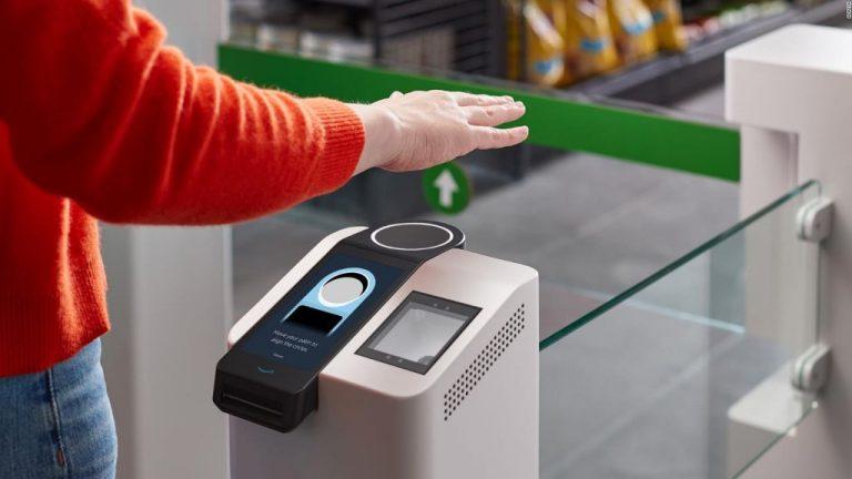 Amazon crea un sistema para pagar con la palma de la mano