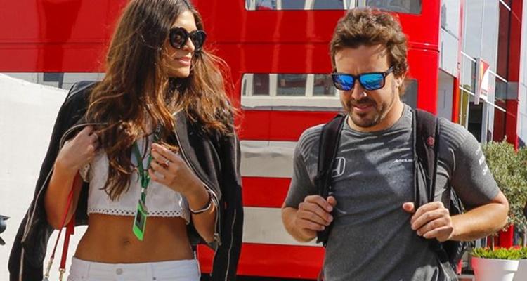 Las chicas que le robaron el corazón a Fernando Alonso