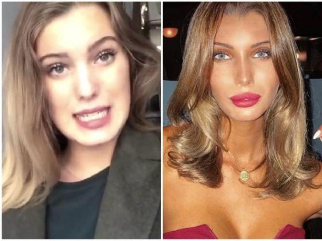 antes y después de Marta López