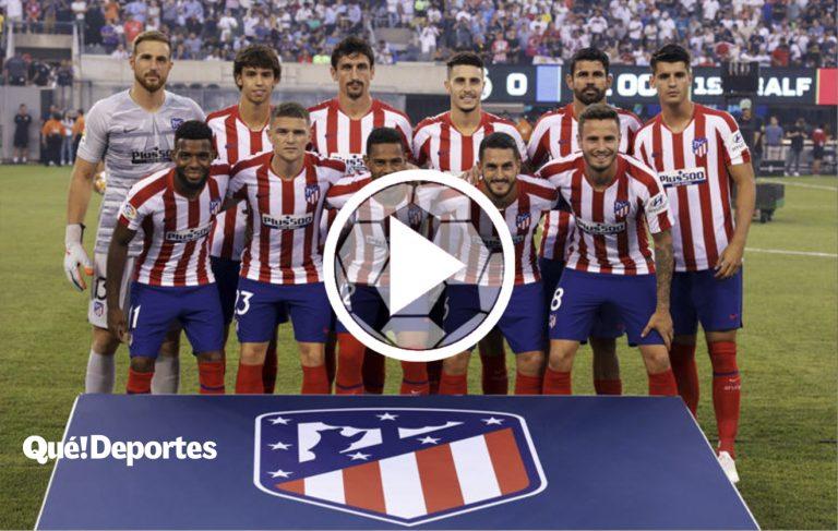 Así se respeta al escudo del Atlético de Madrid