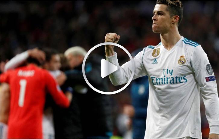 Este fue el primer gol de Cristiano Ronaldo con el Real Madrid