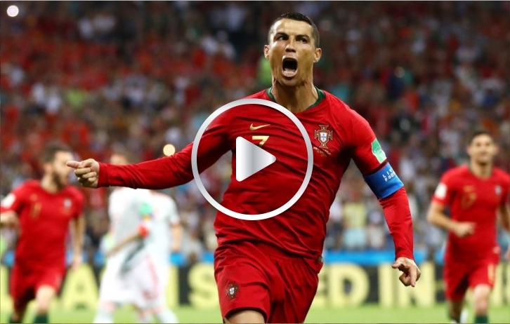 Hat trick de Cristiano Ronaldo para Portugal