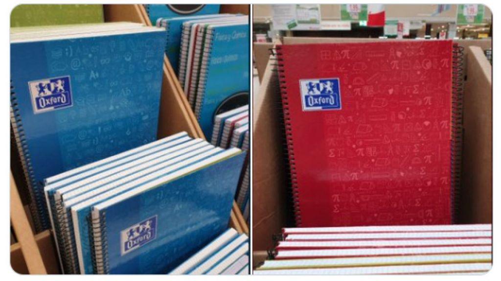 ¿Por qué el cuaderno de matemáticas es siempre rojo?