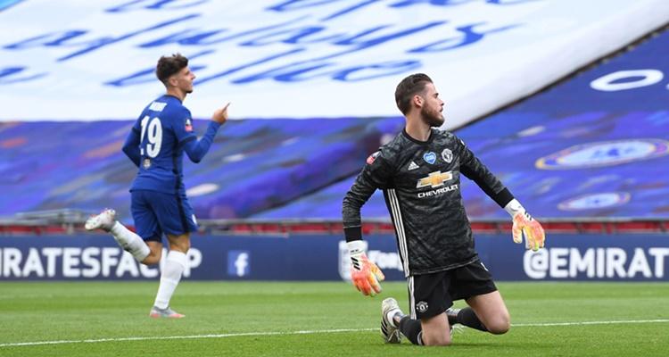 De Gea, errores contra el Chelsea