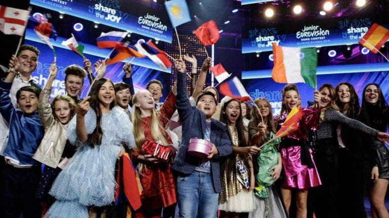 Esta es la competencia de Soleá en Eurovision Junior