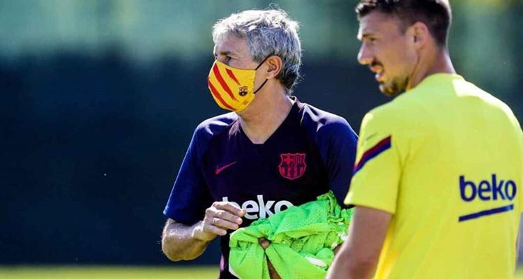 Quique Setién, FC Barcelona