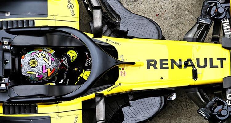 Fernando Alonso, Renault, 2021