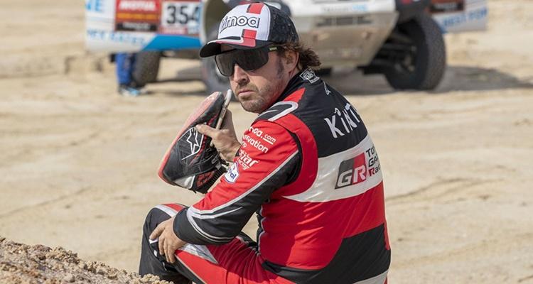 Sueldo Fernando Alonso Dakar Toyota