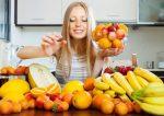 comer fruta de noche