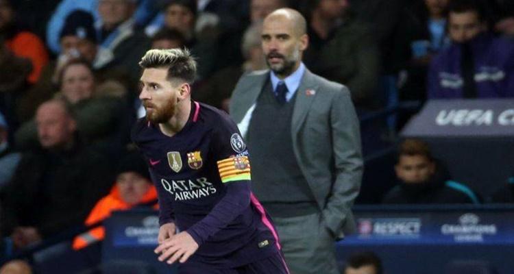Guardiola, Messi, Manchester City