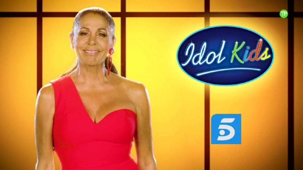 'Idol Kids', o cómo hacer un espectáculo alrededor de Isabel Pantoja