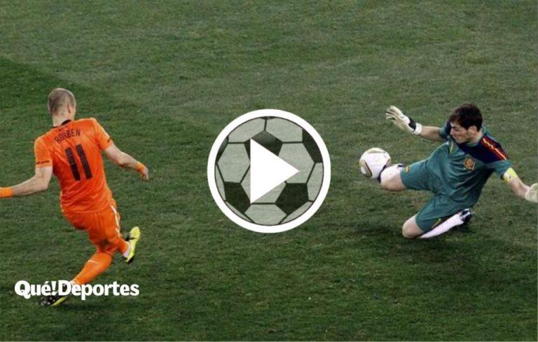 La parada de Iker Casillas a Arjen Robben que lo convirtió en inmortal