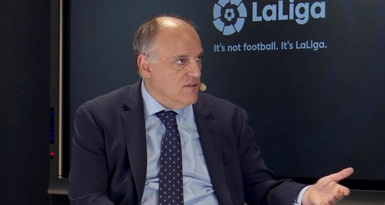 Javier Tebas, problemas, Deportivo