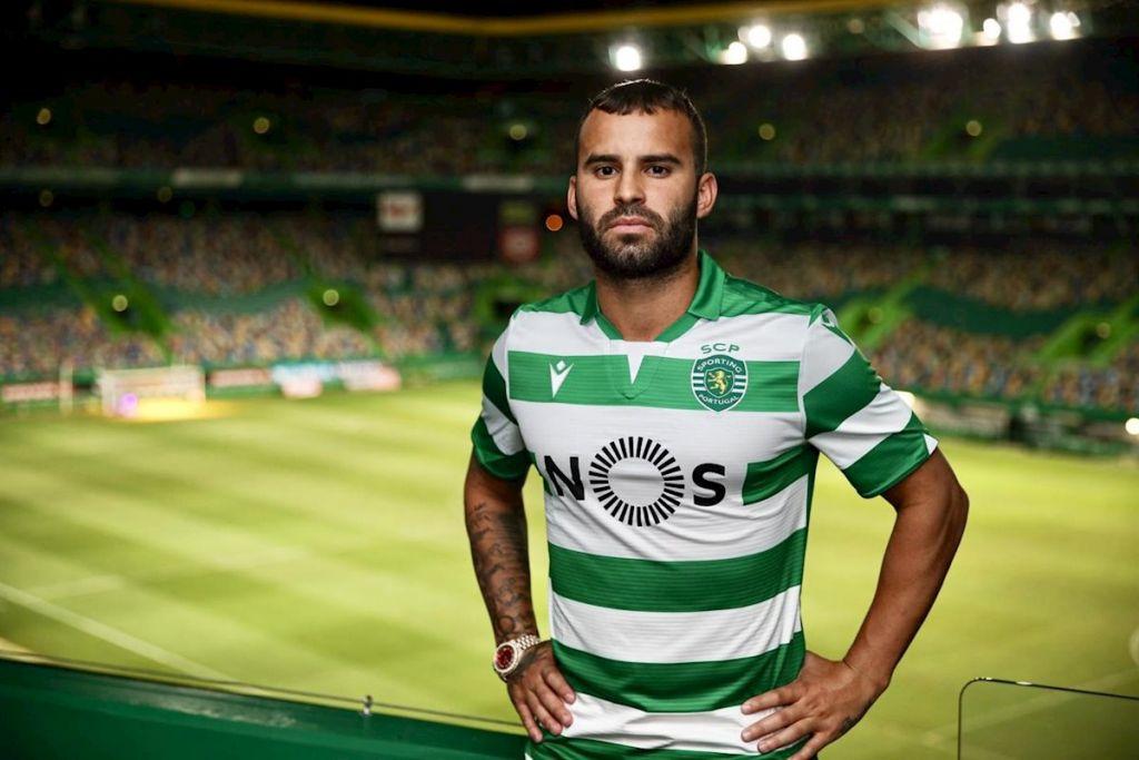 Jesé Rodríguez a su llegada a portugal, donde ha tenido algunos problemas
