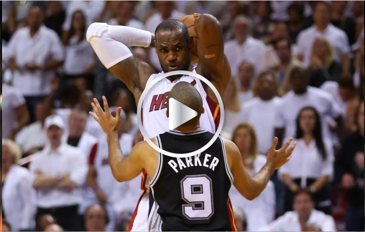Lebron James un minuto para el infarto en la NBA