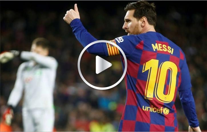 Messi y el mejor contra golpe del FC Barcelona
