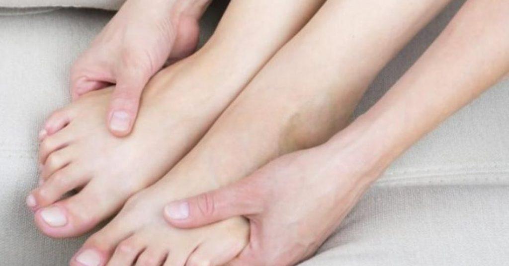 los dedos de los pies movimientos