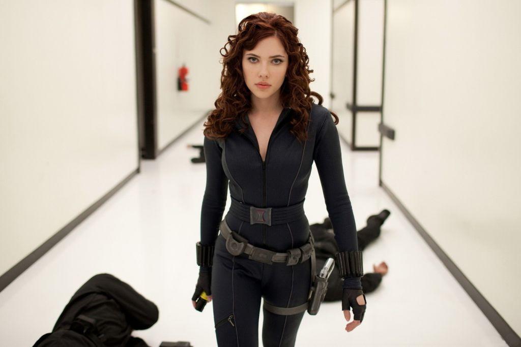 viuda negra en Marvel.