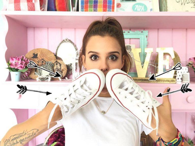 Trucos que funcionan para limpiar tus zapatillas blancas