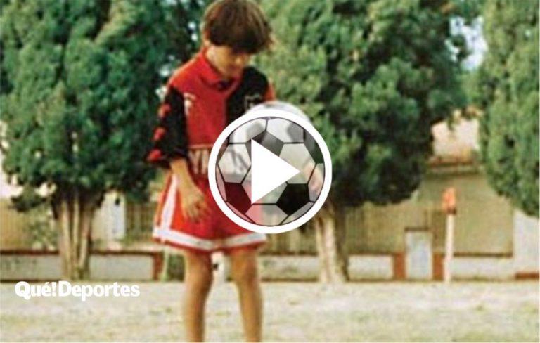 Así jugaba Lionel Messi con tan solo 10 años ¡Ya era crack!