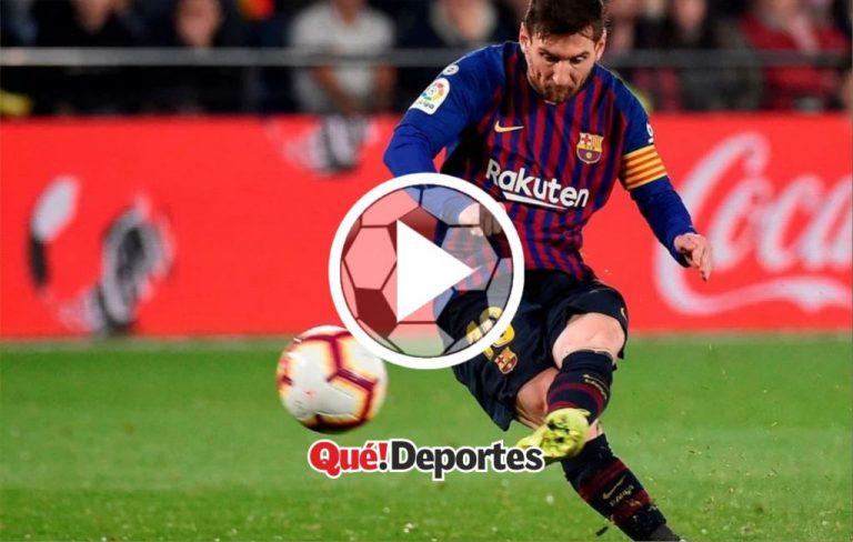 #GolazoDelDía Así se ve un golazo de Messi desde el público