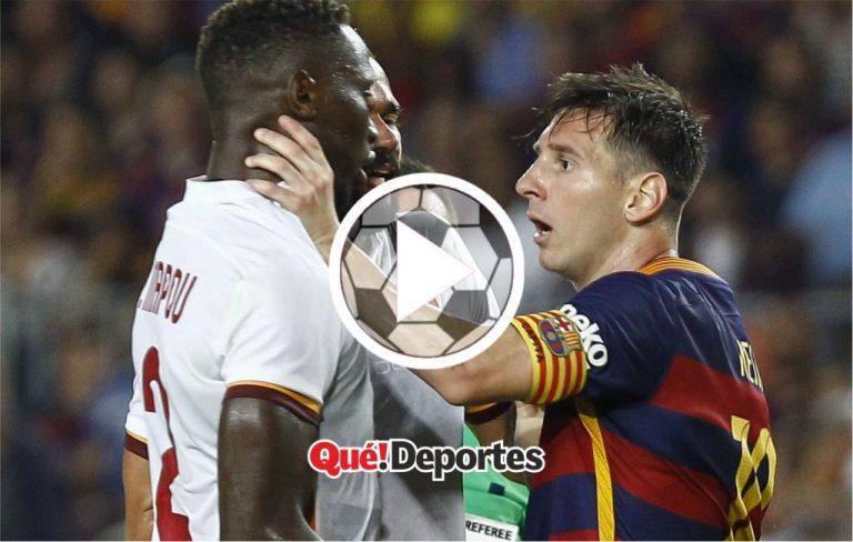 Los momentos más furiosos de Lionel Messi dentro del campo de juego