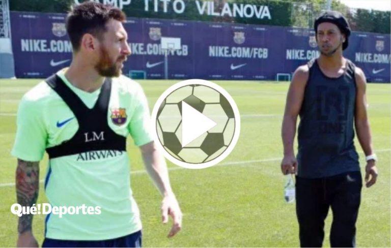 Así se recibe a quién dejó una marca en la historia del Barcelona