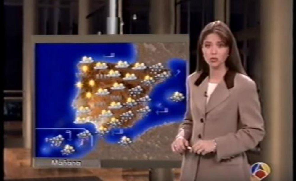 Minerva Piquero, la chica del tiempo de Antena 3