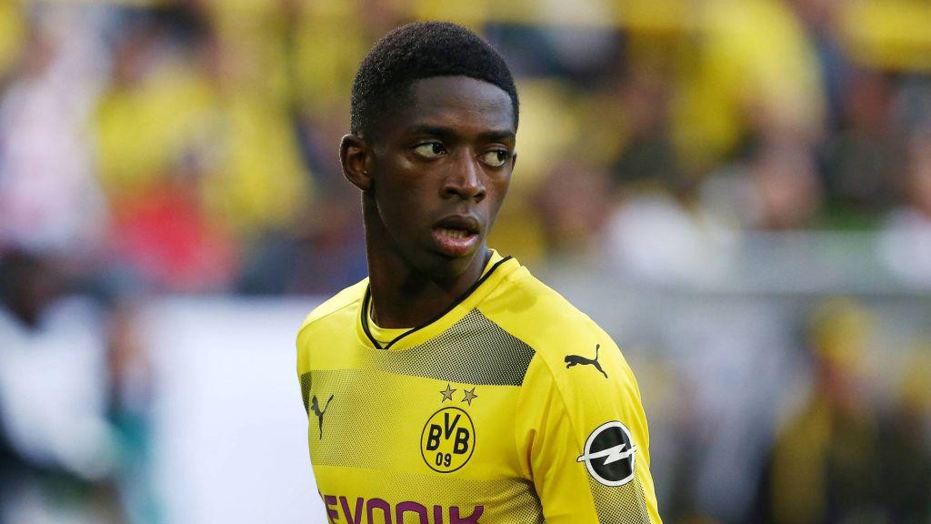 Ousmane Dembelé, en su etapa en el Borussia Dortmund