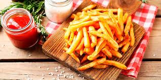 Patatas fritas en el micro.