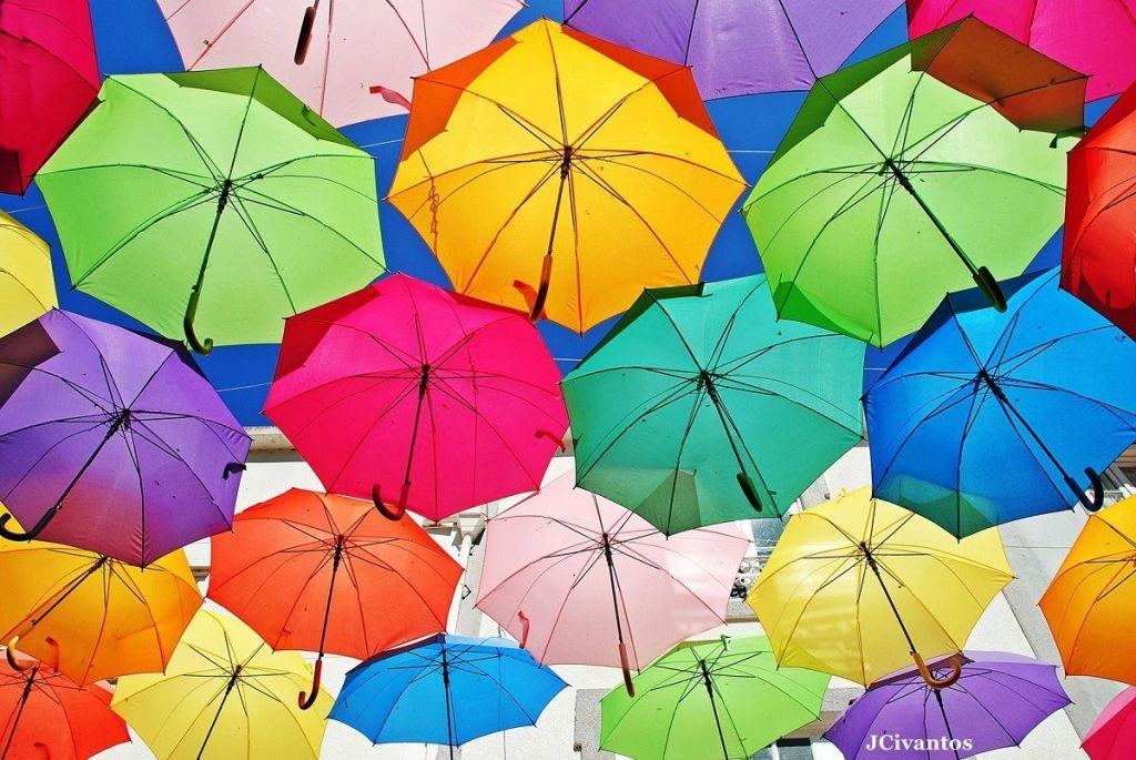 Paraguas frente a la Covid-19