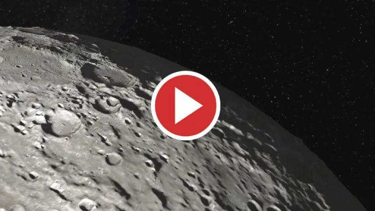 La peligrosa radiación de la luna 200 veces más potente que la de la tierra