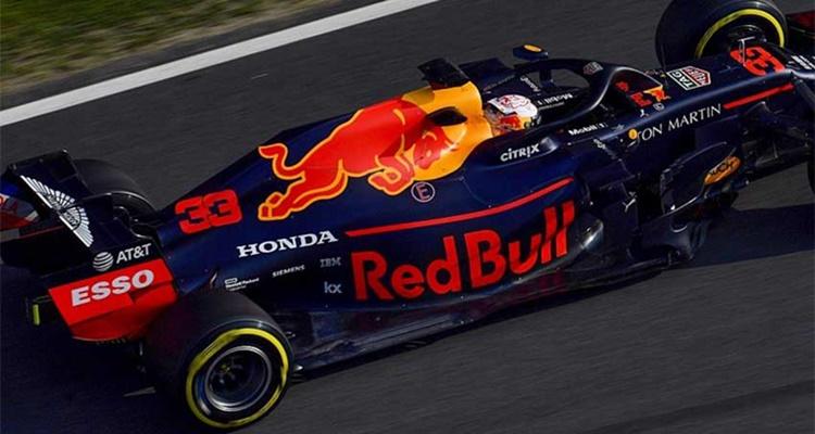 Red Bull, Honda, Verstappen