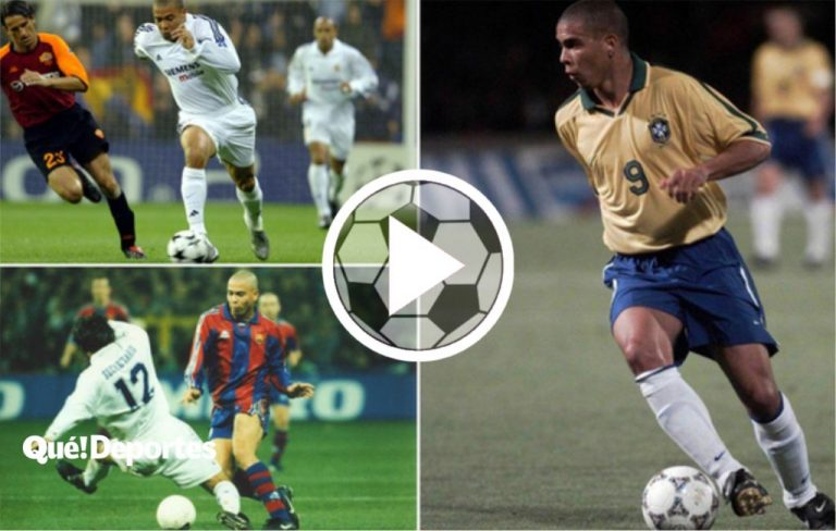 Ronaldo, el mejor tira caños de la historia