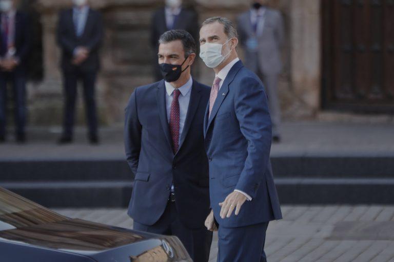 Sánchez agradece que la Casa Real marque distancia con Juan Carlos I