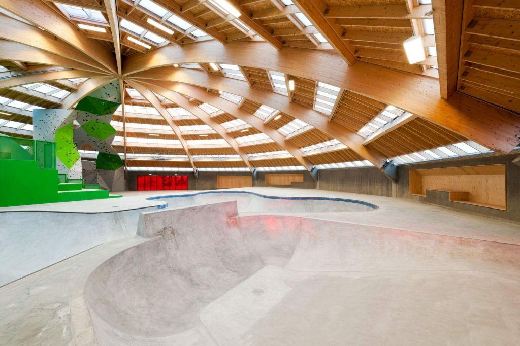 La iglesia del skate en España y otros lugares sorprendentes para este deporte