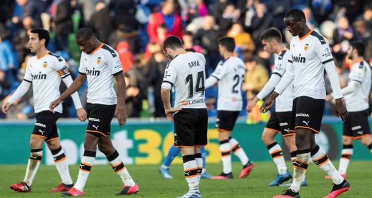 Valencia CF, positivos LaLiga