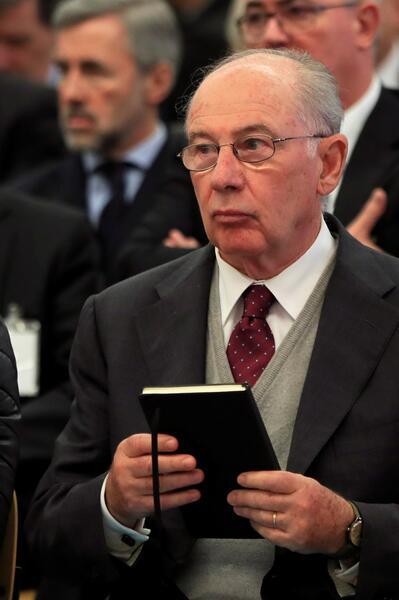 El juez concede el régimen de semilibertad a Rodrigo Rato con pulsera telemática