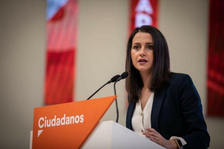 Arrimadas tampoco comparte la decisión de Ayuso de ir a los tribunales